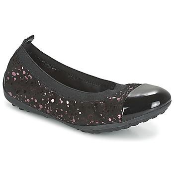 Zapatos Niña Bailarinas-manoletinas Geox PIUMA BALLERINE Negro