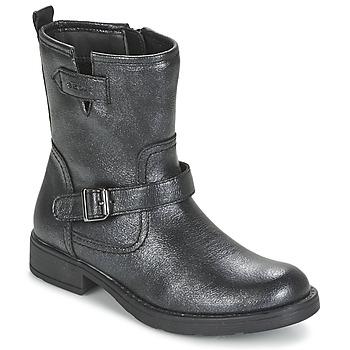 Zapatos Niña Botas de caña baja Geox SOFIA Negro