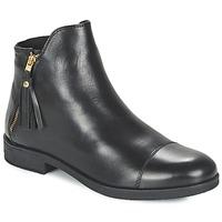 Zapatos Niña Botas de caña baja Geox AGATE Negro