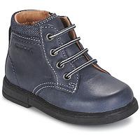 Zapatos Niño Botas de caña baja Geox B GLIMMER Azul