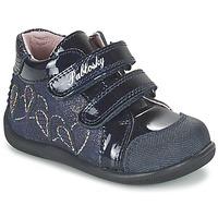 Zapatos Niña Zapatillas altas Pablosky VANIDELLE Marino