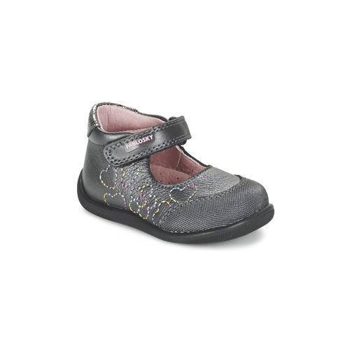 Zapatos Niña Bailarinas-manoletinas Pablosky JOUBEK Gris