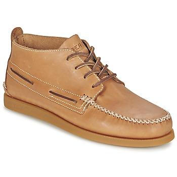Zapatos Hombre Botas de caña baja Sperry Top-Sider A/O WEDGE CHUKKA LEATHER Beige