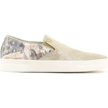 Zapatos Mujer Slip on Y Not? S16 AYW210 Zapatos Mujeres Oro Oro