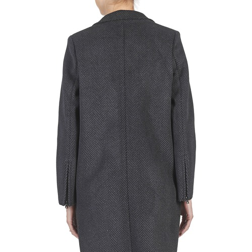 Abrigos Tableaubis Eleven GrisNegro Paris Textil Mujer nX80kwOP