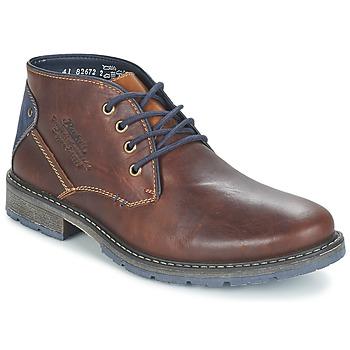 Zapatos Hombre Botas de caña baja Rieker RELUBE Marrón