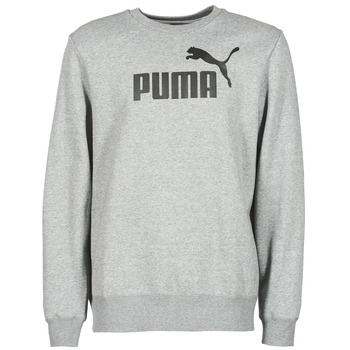 textil Hombre sudaderas Puma ESS CREW SWEAT FL Gris