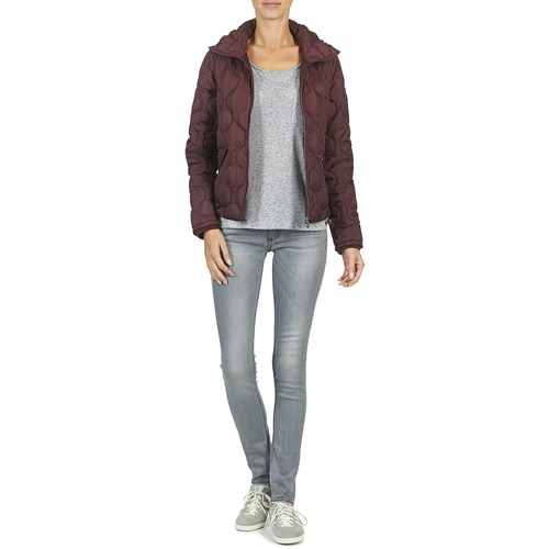 S Textil Mujer Jasquede Plumas oliver Burdeo 7Yf6gby