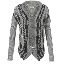 textil Mujer Chaquetas de punto Teddy Smith GRANBY CRUDO / Negro