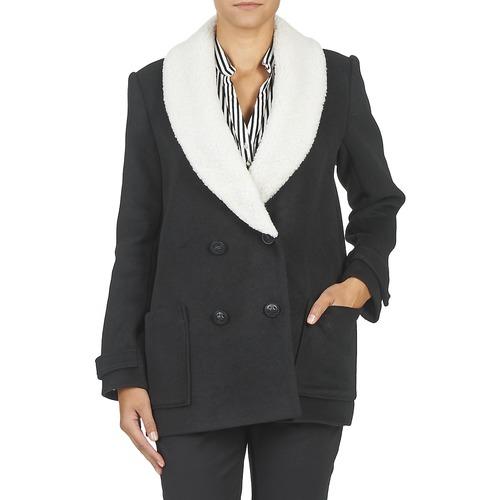 Teddy Textil Mujer Smith Abrigos Marta Negro mON08nvw
