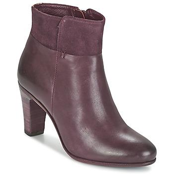 Zapatos Mujer Botines Fred de la Bretoniere NAVAJO Burdeo
