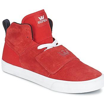 Zapatos Hombre Zapatillas altas Supra ROCK Rojo