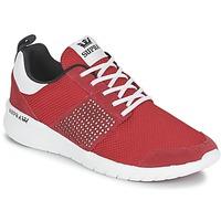 Zapatos Zapatillas bajas Supra SCISSOR Rojo