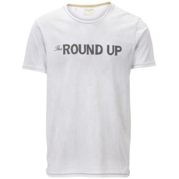 textil Hombre camisetas manga corta Selected Round-Up blanco