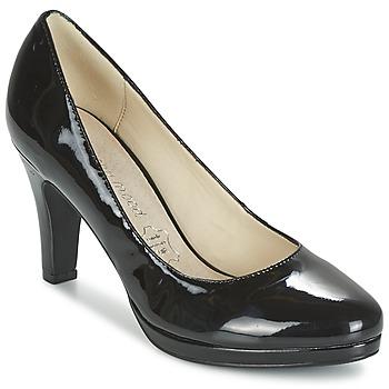 Zapatos Mujer Zapatos de tacón Moony Mood FEROU Negro / Barniz