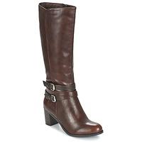Zapatos Mujer Botas urbanas Moony Mood FARANDO Marrón