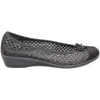 Zapatos Mujer Bailarinas-manoletinas Vulladi CRAQUELE NEGRO