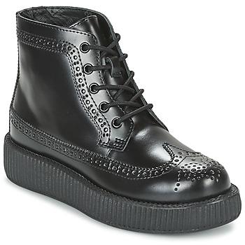 Zapatos Botas de caña baja TUK MONDO LO Negro