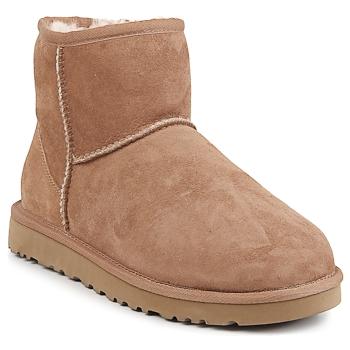 Zapatos Mujer Botas de caña baja UGG CLASSIC MINI CHESTNUT