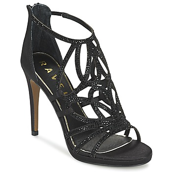 Zapatos Mujer Sandalias Ravel BLANCO Negro / Satín