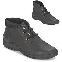 Zapatos Mujer Botas de caña baja Arcus MOKALA Negro