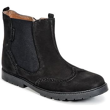 Zapatos Niños Botas de caña baja Start Rite DIGBY Negro