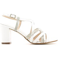 Zapatos Mujer Sandalias Grace Shoes E6491 High heeled sandals Mujeres Bianco Bianco