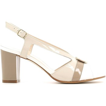 Zapatos Mujer Sandalias Grace Shoes E6493 High heeled sandals Mujeres Beige Beige