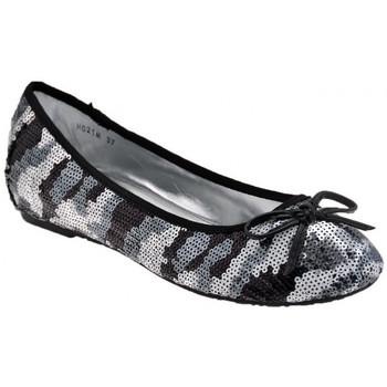 Zapatos Mujer Bailarinas-manoletinas F. Milano  Negro