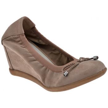 Zapatos Mujer Bailarinas-manoletinas F. Milano  Gris