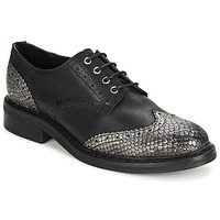Zapatos Mujer Derbie Koah LESTER Negro / Silver