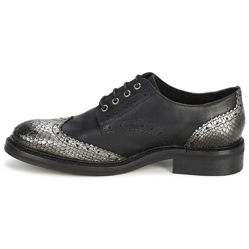 NegroSilver Mujer Derbie Koah Zapatos Lester ikOPXZu