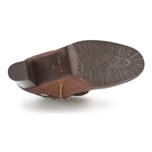 Cognac Koah Bonnie Mujer Low Boots Zapatos CxroeBd