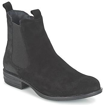 Zapatos Mujer Botas de caña baja Casual Attitude FENDA Negro