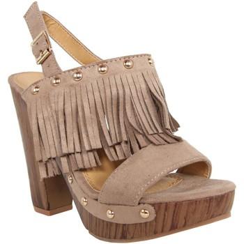 Zapatos Mujer Sandalias Colires C6068 Beige