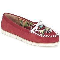 Zapatos Mujer Mocasín Miss L'Fire YHUNDERBIRD Rojo