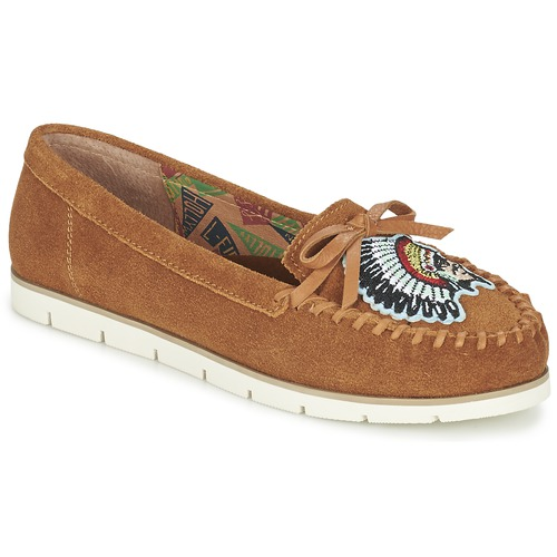 Zapatos Mujer Mocasín Miss L'Fire CHIEFTAIN Camel
