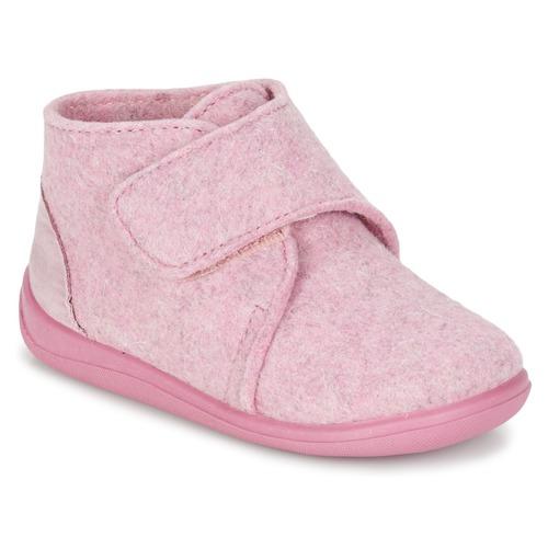 Citrouille et Compagnie FELINDRA Rosa - Envío gratis | ! - Zapatos Pantuflas Nino