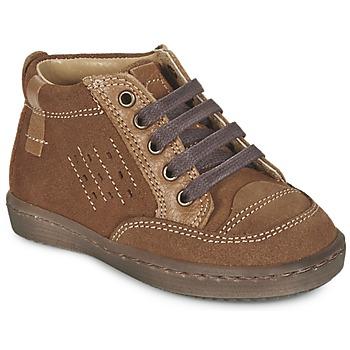 Zapatos Niño Botas de caña baja Citrouille et Compagnie FIMOULA Marrón