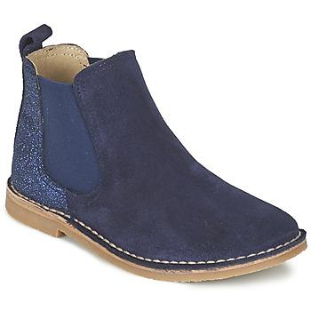 Zapatos Niña Botas de caña baja Citrouille et Compagnie FIGOULI Azul