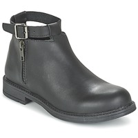 Zapatos Niña Botas de caña baja Citrouille et Compagnie FRIZZY Negro