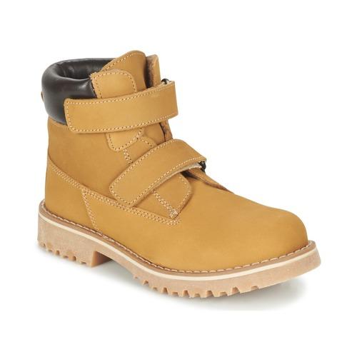 Zapatos Niños Botas de caña baja Citrouille et Compagnie FIKOURAL Beige