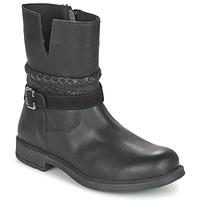 Zapatos Niña Botas de caña baja Citrouille et Compagnie FURAMO Negro