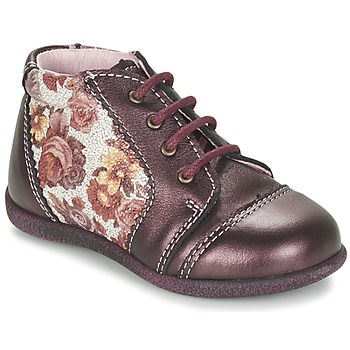 Zapatos Niña Botas de caña baja Citrouille et Compagnie FRICOL Violeta