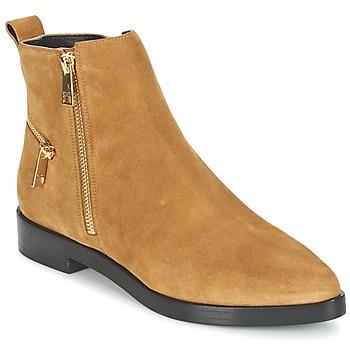 Zapatos Mujer Botas de caña baja Kenzo TOTEM FLAT BOOTS Camel