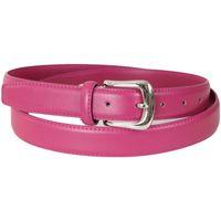 Accesorios textil Hombre Cinturones Kebello Cuero Cinturon rosa