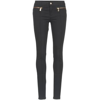 textil Mujer pantalones con 5 bolsillos Versace Jeans TOLKALA Negro