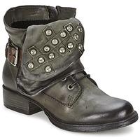 Zapatos Mujer Botas de caña baja Dream in Green TAWFIQ Gris
