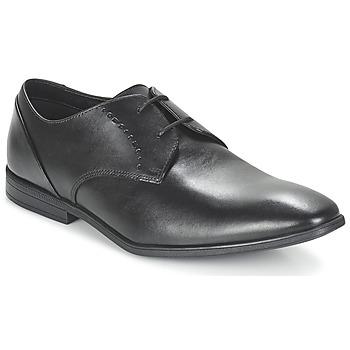 Zapatos Hombre Richelieu Clarks Bampton Lace Negro