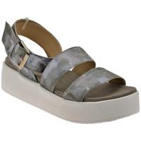 Zapatos Mujer Sandalias Janet&Janet  Plata